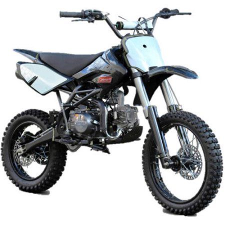 Coleman 125cc Gas Powered Dirt Bike Black Products Pinterest