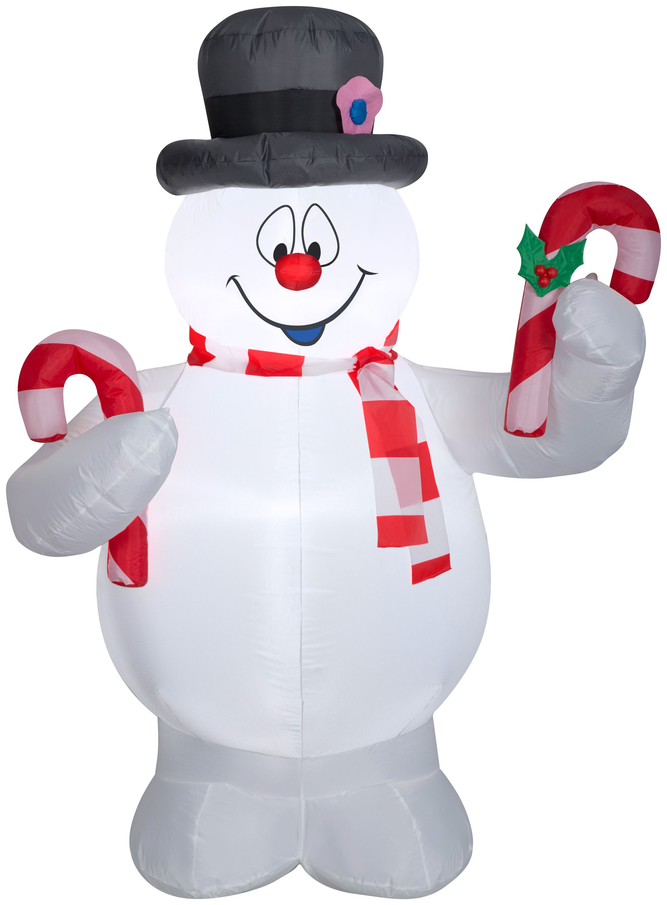 Gemmy Industries Yard Inflatables Frosty The Snowman 9 Ft Walmart Com Frosty The Snowmen Inflatable Decorations Indoor Christmas Decorations