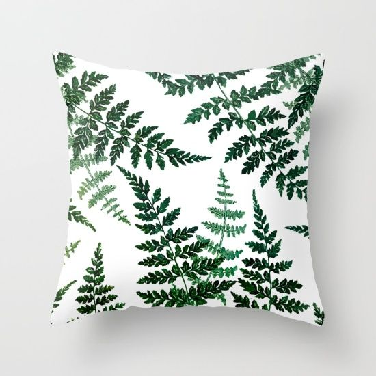 Botanical bliss society6 decor buyart throw pillow for Dekoelemente wohnzimmer