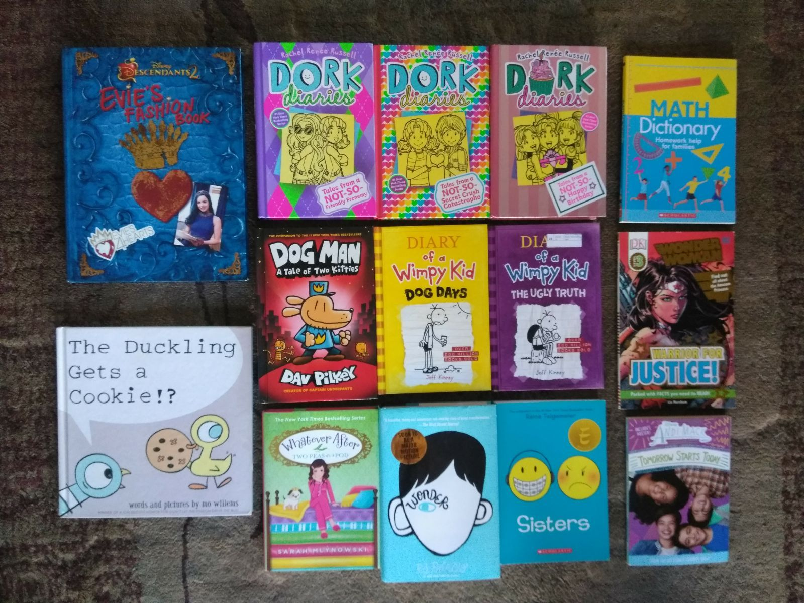 Children Books Dork Diaries 11 13 Dog Man Diary Of A Wimpy Kid Disney More Lot Of 14 See Pictures If You Ca Dork Diaries Wimpy Kid Dork Diaries Books