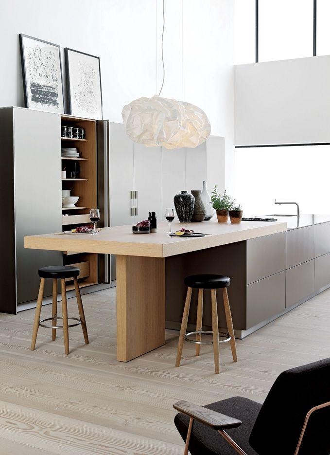 cuisine bulthaup kitchen pinterest keuken keukens. Black Bedroom Furniture Sets. Home Design Ideas