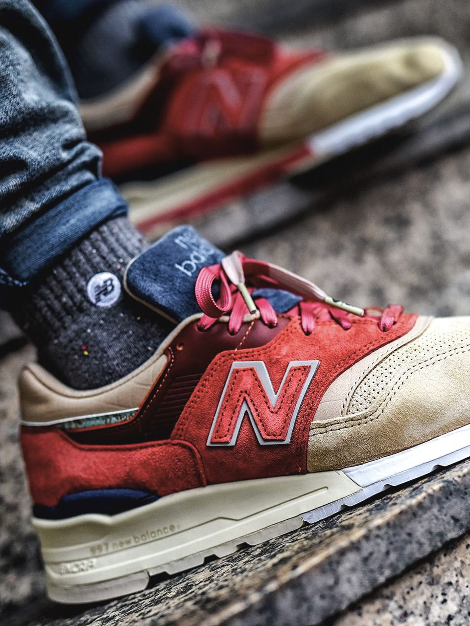 huge discount e7d51 38e83 Stance x New Balance 997 ST First of All Pack - 2017 (by Bry Madiam Limon)
