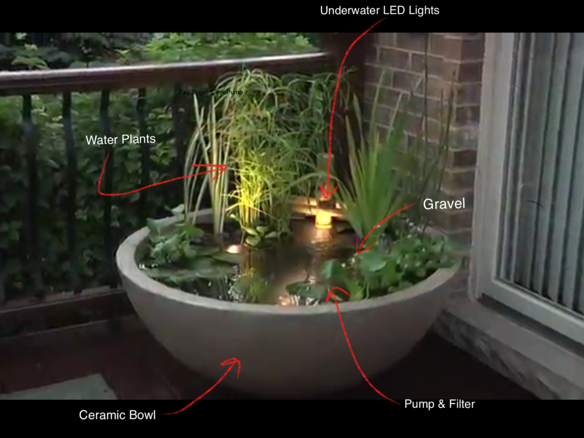 Water gardens patio water garden small water feature for Water feature ideas for small gardens