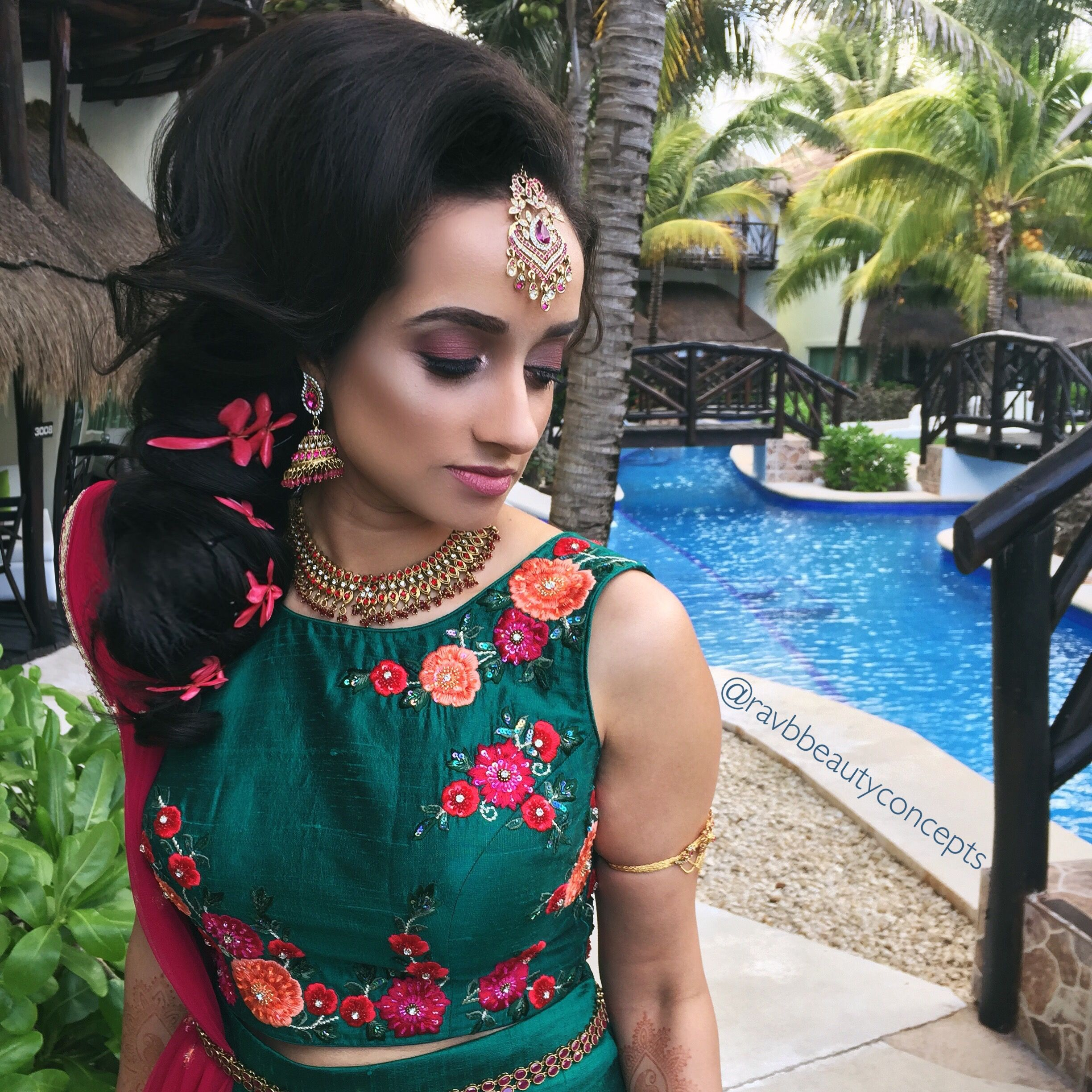 indian bridal makeup, indian bridal hair, bridal makeup, bridal