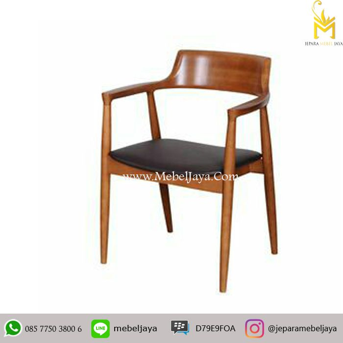 Pin By Jepara Mebel On Kursi Cafe Modern Dining Chairs