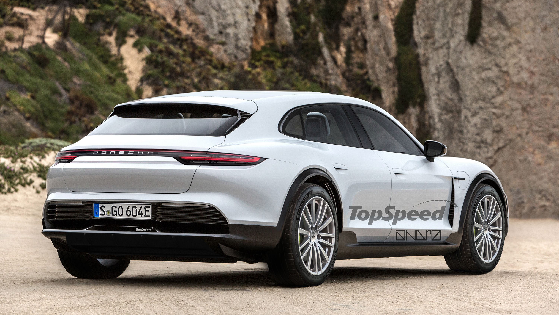 The Porsche E Cross Turismo Concept Will Become The Production Version Of The Taycan Suv Top Speed Porsche E Porsche Suv Car