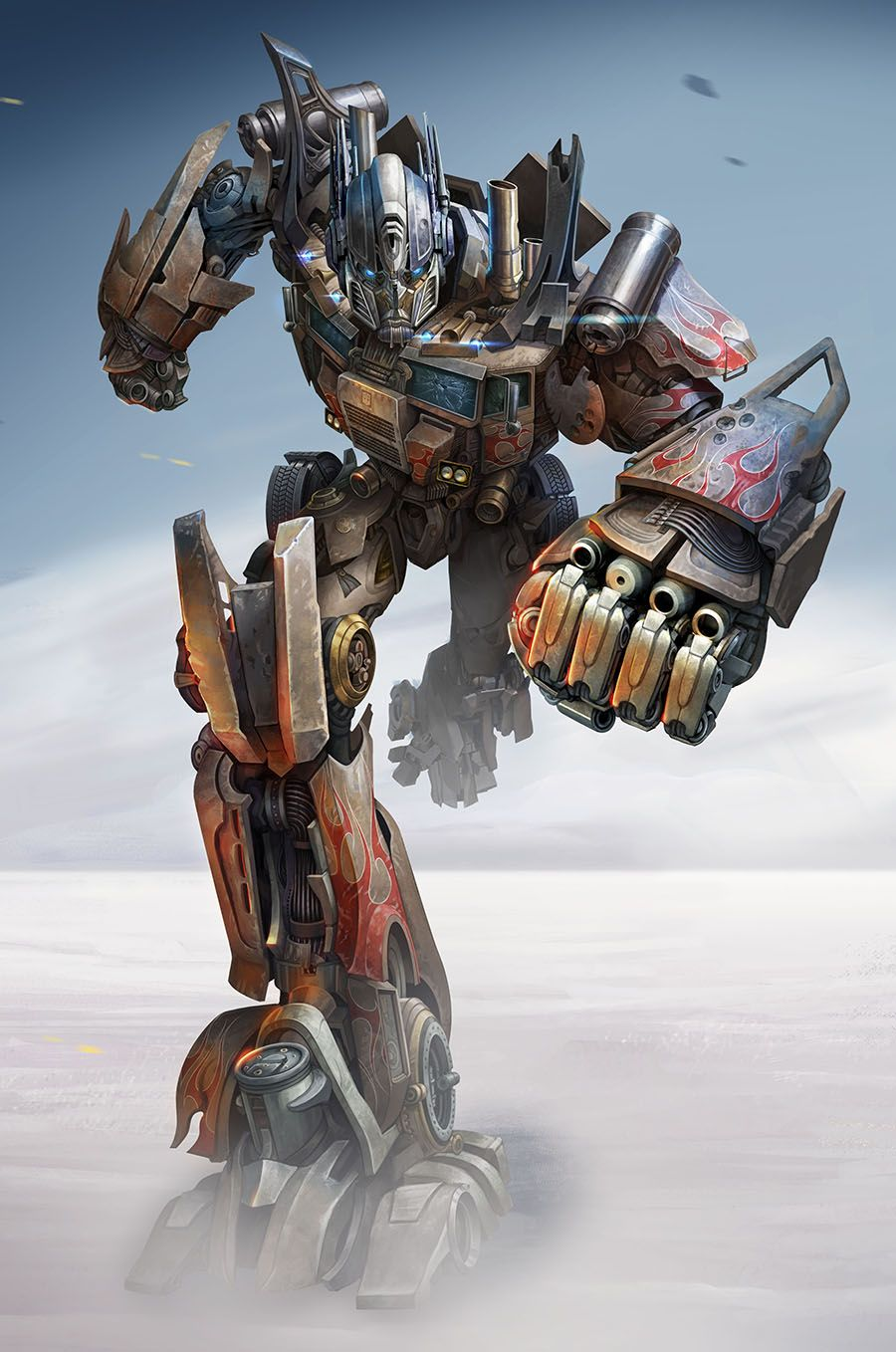 Transformers news transformers age of extinction package - Optimus prime dessin ...