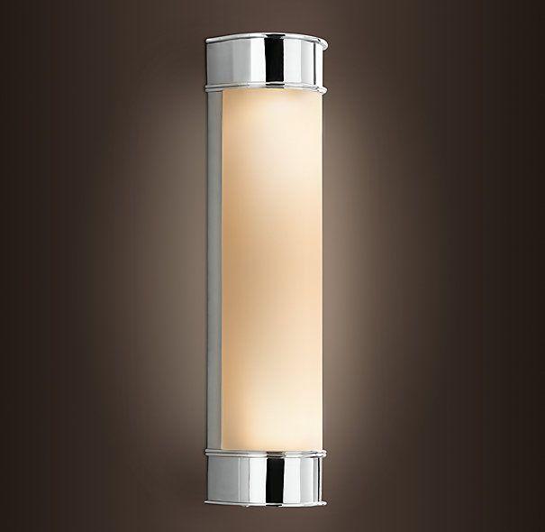 Lámparas para los lados del espejo en baño ppal Productos para - lamparas para escaleras
