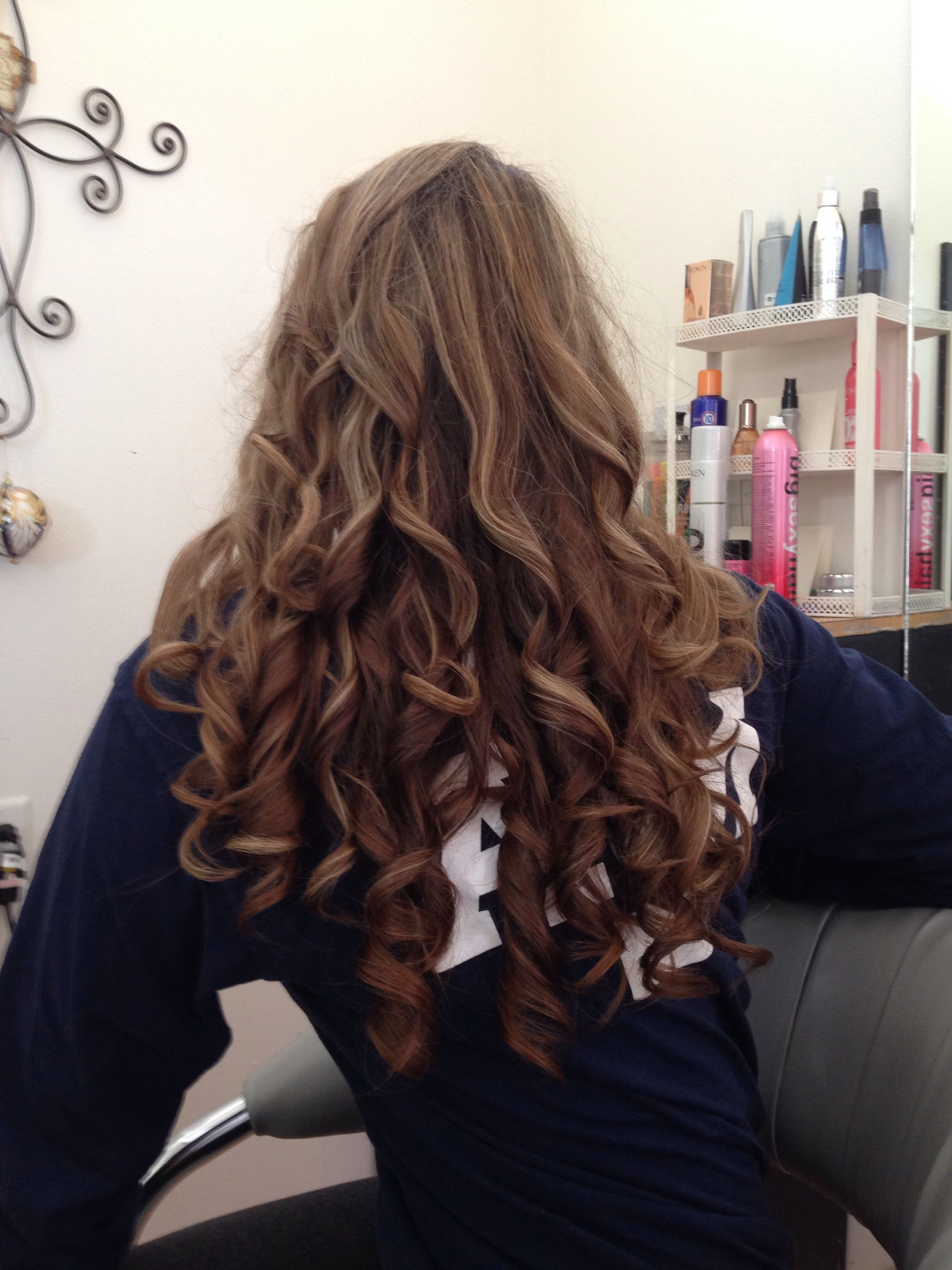 hair styles school miracurl curls hairstyles hair style and 6713