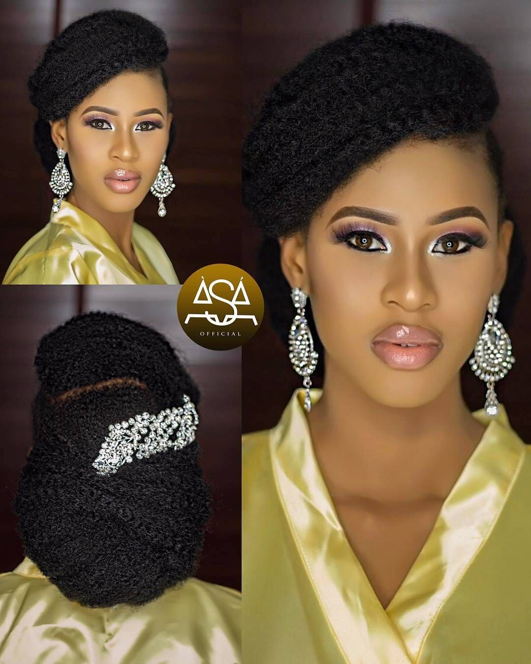 Latest Female Hairstyles Nigerian Natural Hair Styles Hair Styles Elegant Hairstyles