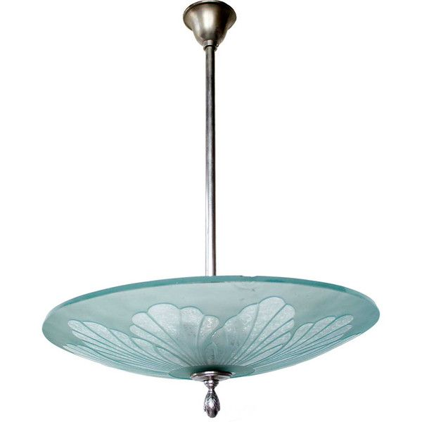 inverted bowl pendant lighting. swedish art deco etched glass bowl pendant light inverted lighting