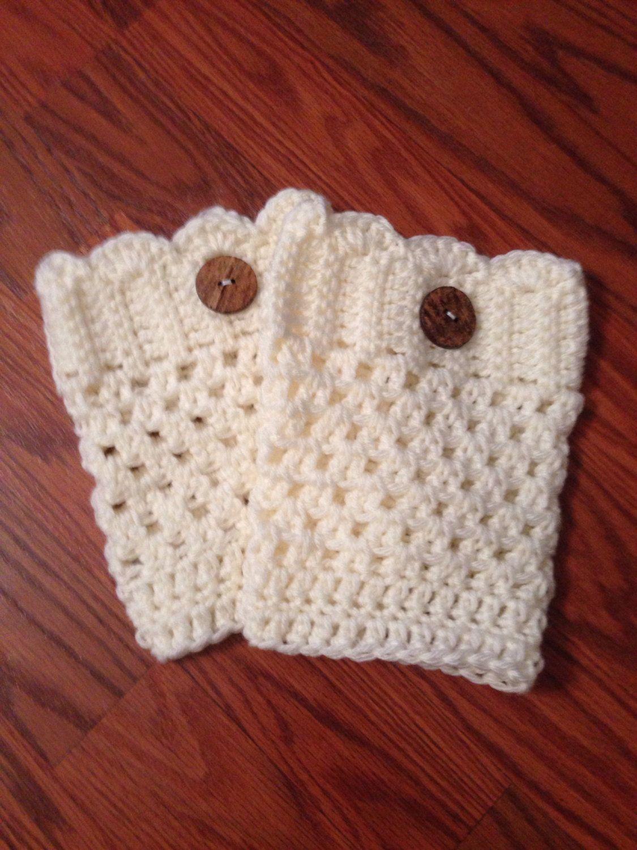 Cute Boot Cuffs by GierersGear on Etsy! | croche | Pinterest