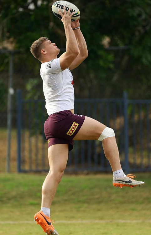 Dale Copley of the Brisbane Broncos