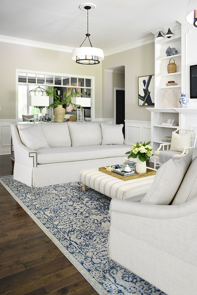 OUR NEW WHITE SOFAS, WHY WE CHOSE THEM + FALL INSPO! images