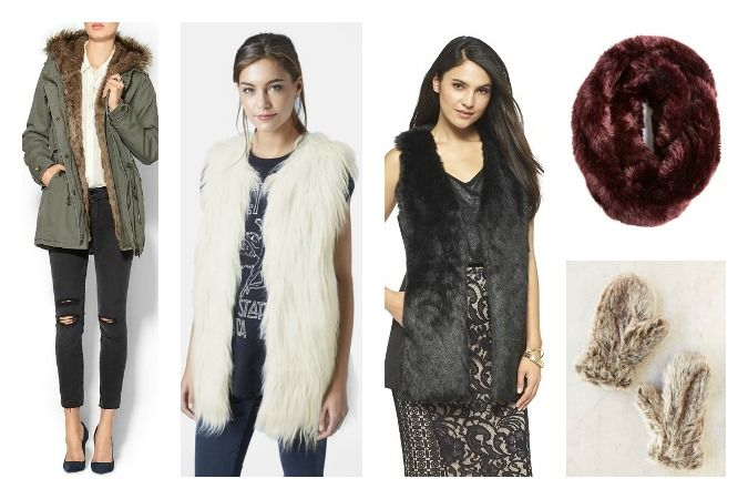 Faux fur fall picks