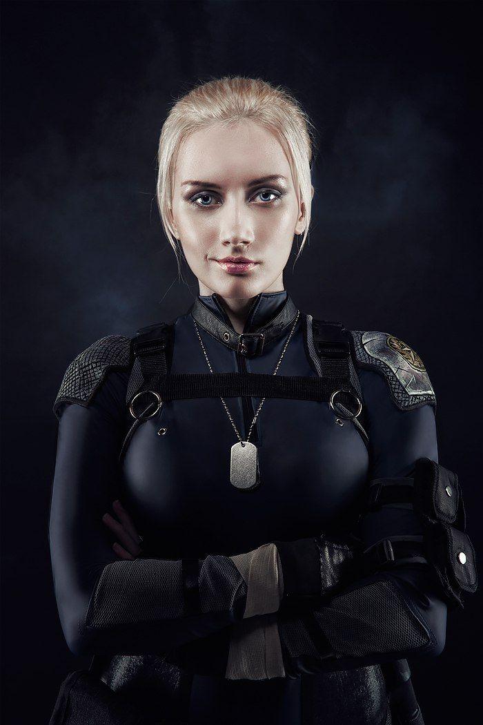 Cassie Cage Iz Mortal Kombata X Cosplayer Narga-8025