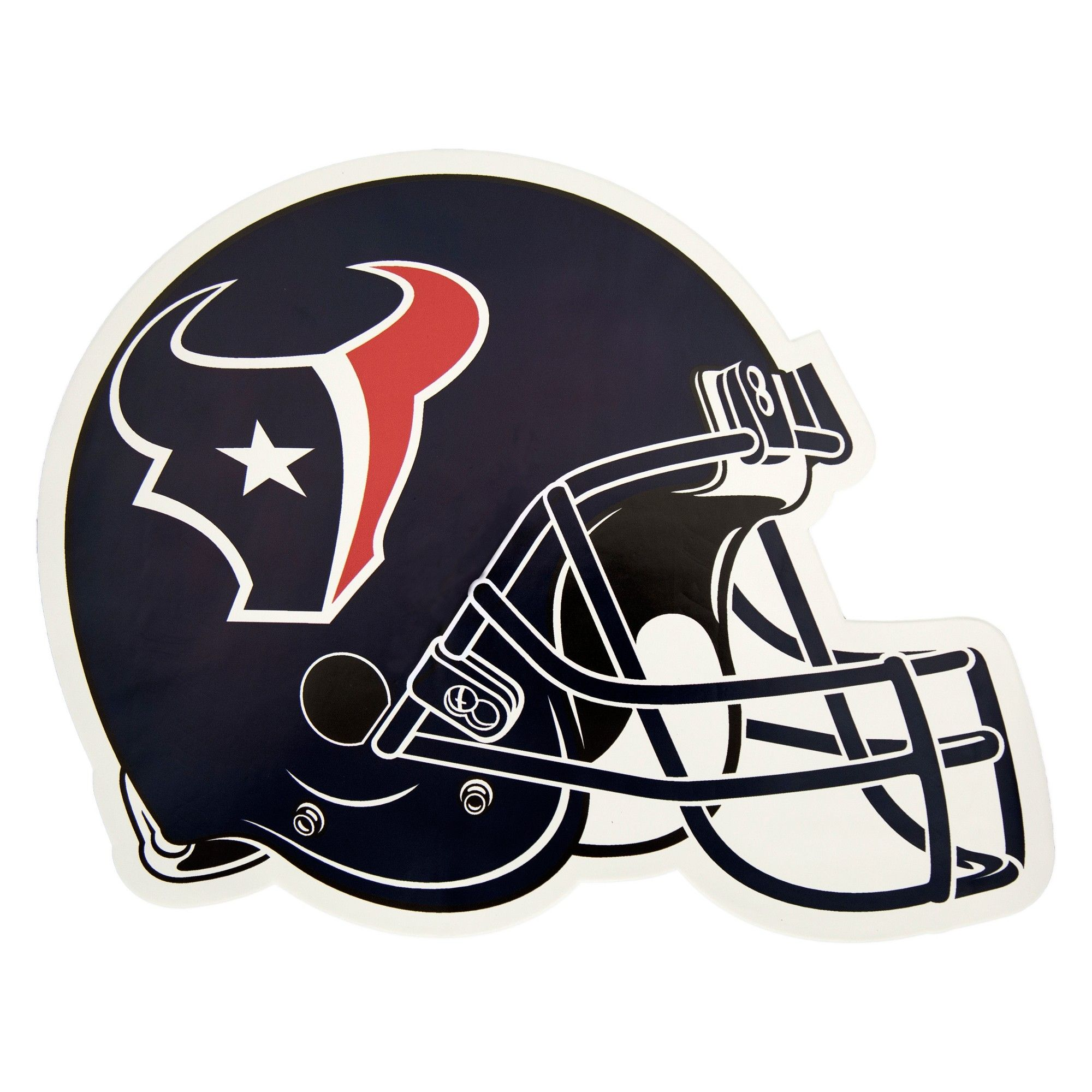 NFL Houston Texans Football Helmet Antenna Topper