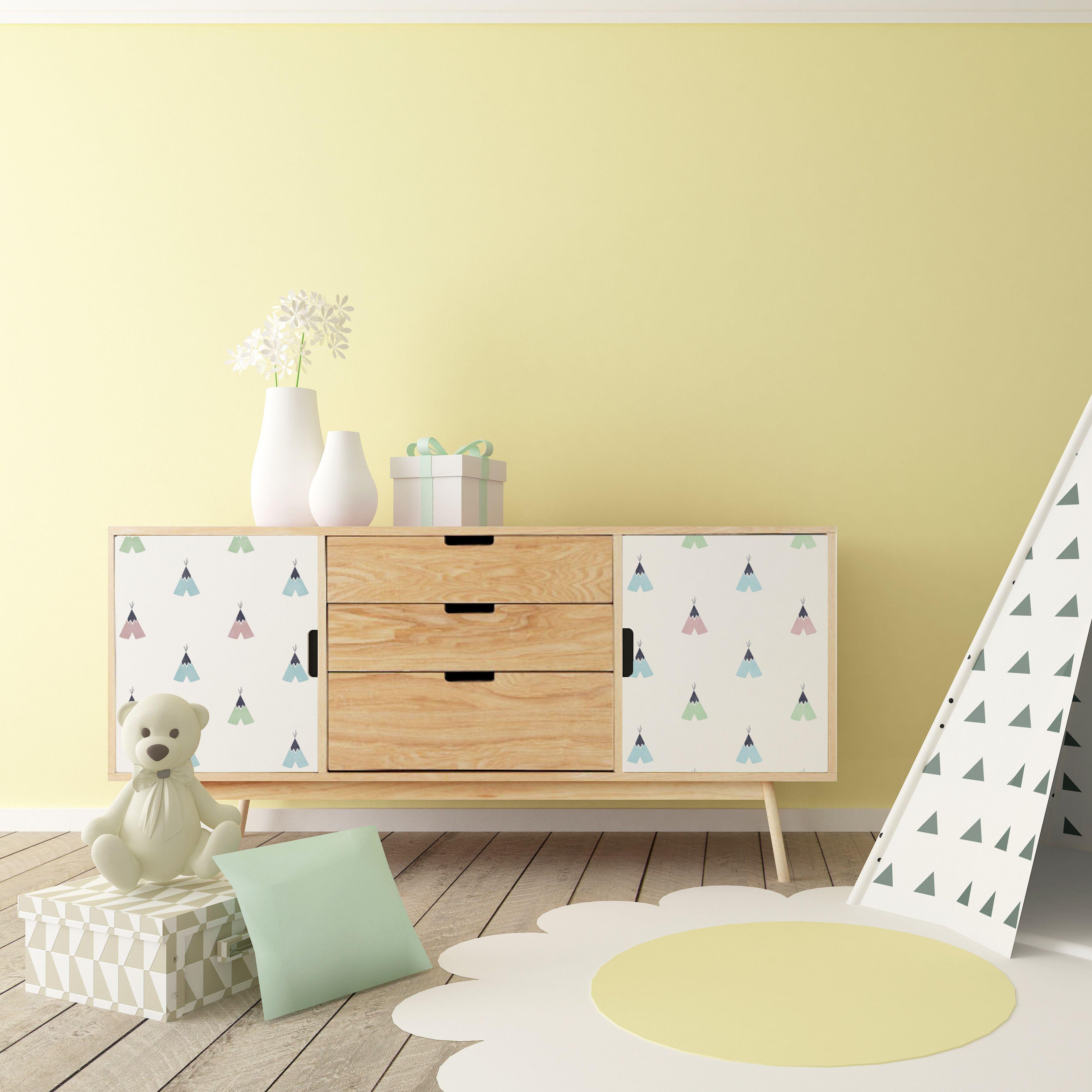 Tipi Repeat Furniture Stencil | Geometric-Modern Stencils | Pinterest