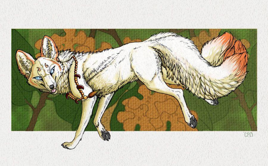 Kinmokusei Kitsune By Spettri On Deviantart Art