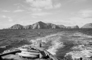 """the late George Sassoon, who travelled to St Kilda in 1965 aboard the """"Glen Carradale"""" owned by Alastair Gibson. These are some of his photos from that journey"""
