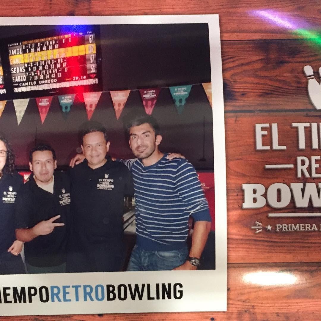#eltiemporetrobowling equipo @mecideas by jaforero