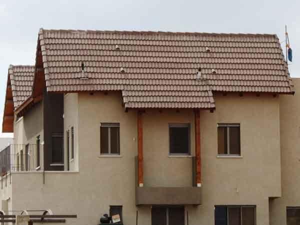 גגות רעפים קרניז בטון