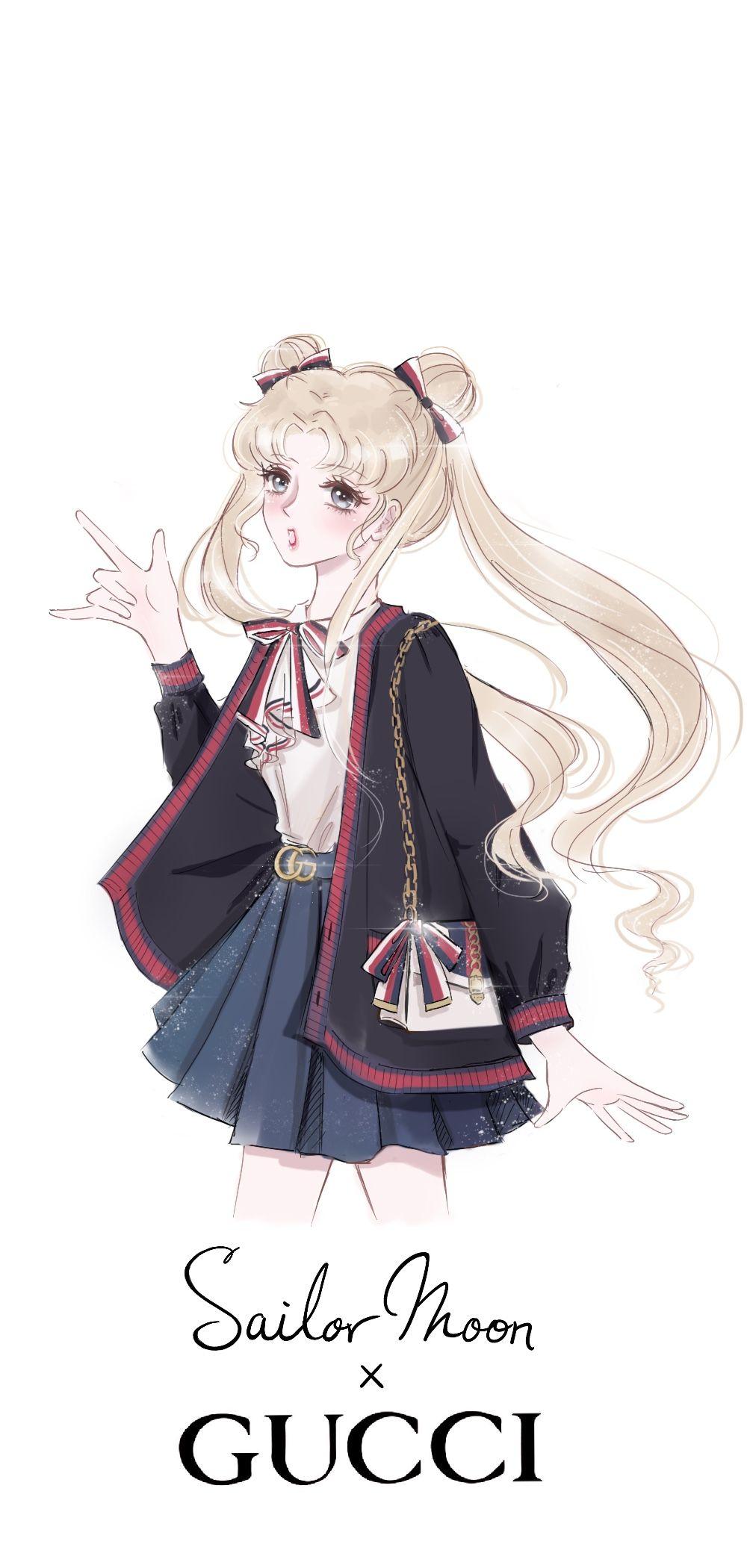 Sailormoon Gucci Drawings Anime Sailor Moon Wallpaper Sailor