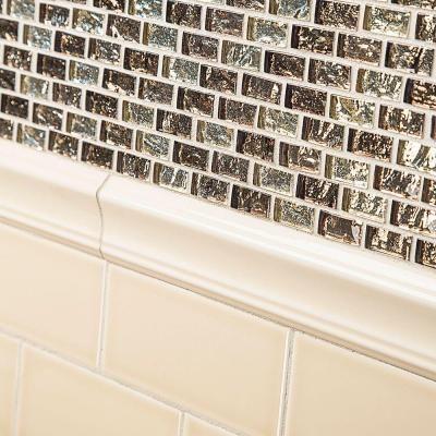 Jeffrey Court Royal Cream Ivory Gloss Crown 12 In X 2 1 4 Ceramic Wall Tile Gl Brickmosaic