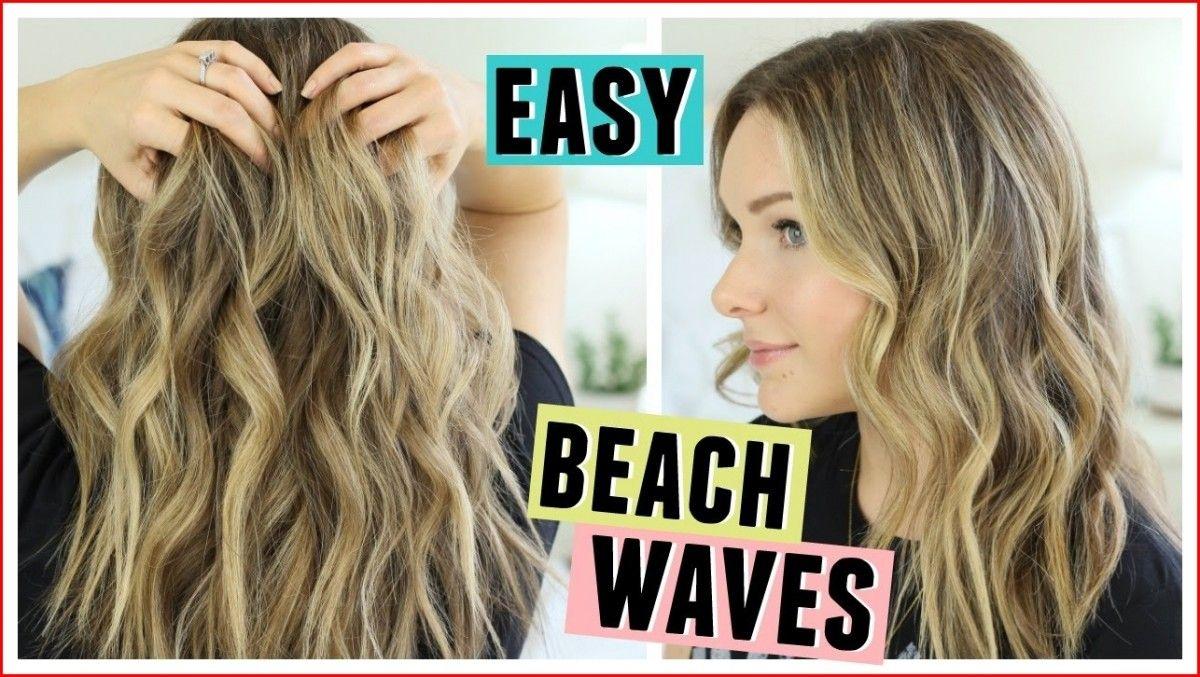 Cute easy hairstyles wavy beach hair in easy hairstyles