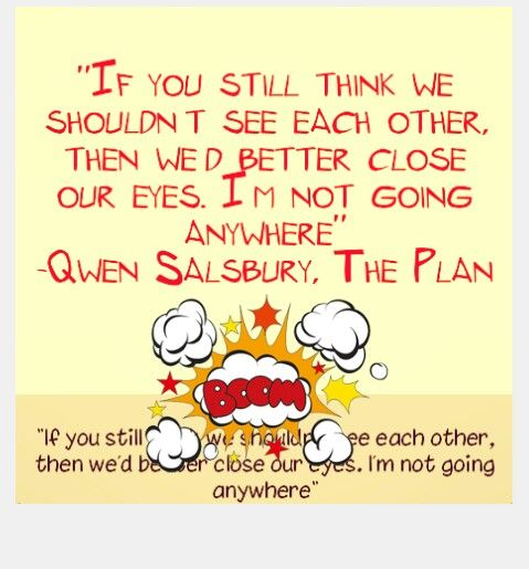 The Plan by Qwen Salsbury ♥