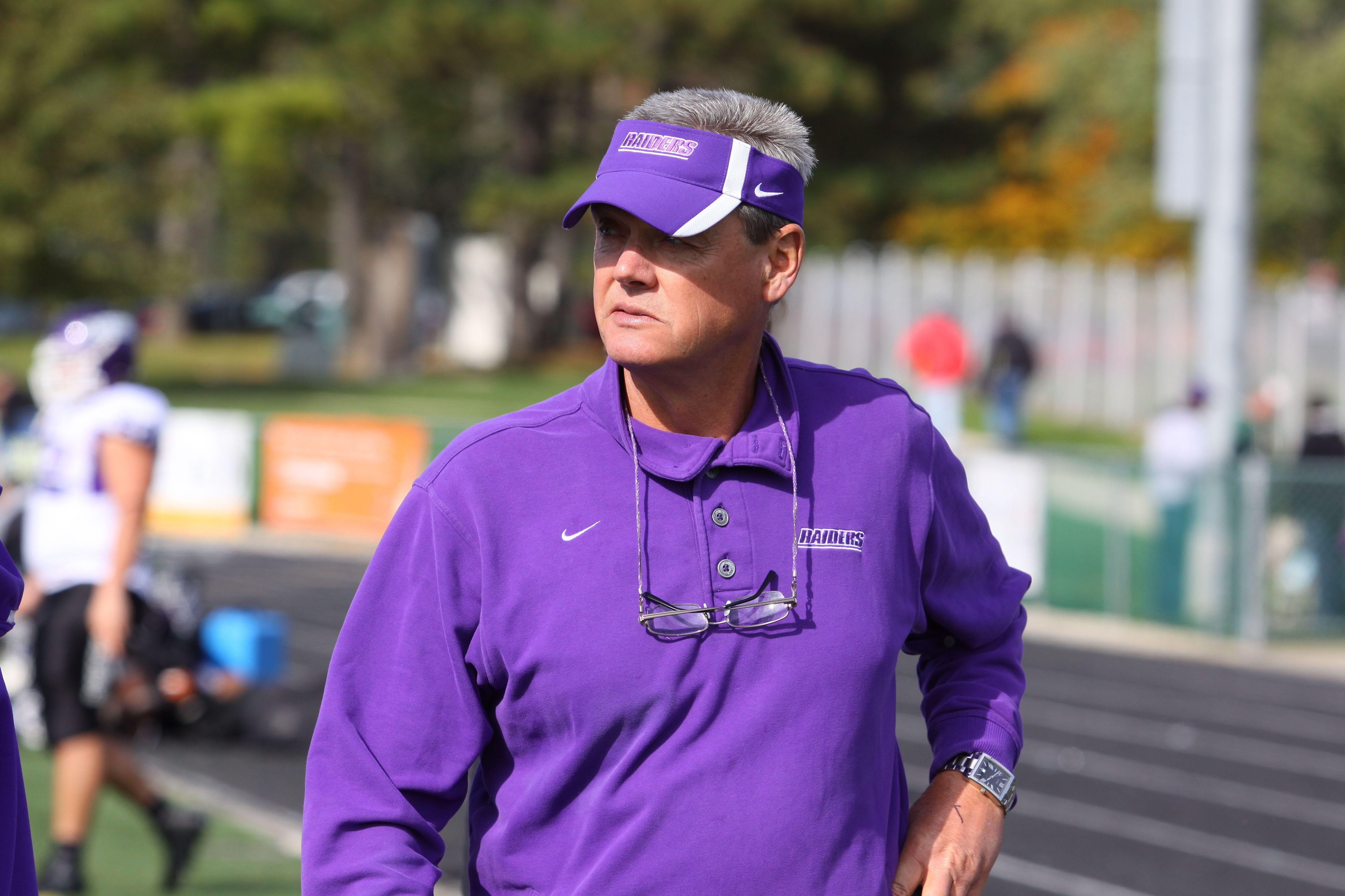Former mount union head football coach larry kehres has