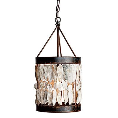 Decorating with shells drum pendant light posts and pendant lighting decorating with shells aloadofball Gallery