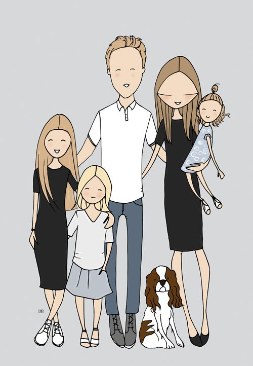 Download Find your tribe. Love them hard. Family by Blanka Biernat ...