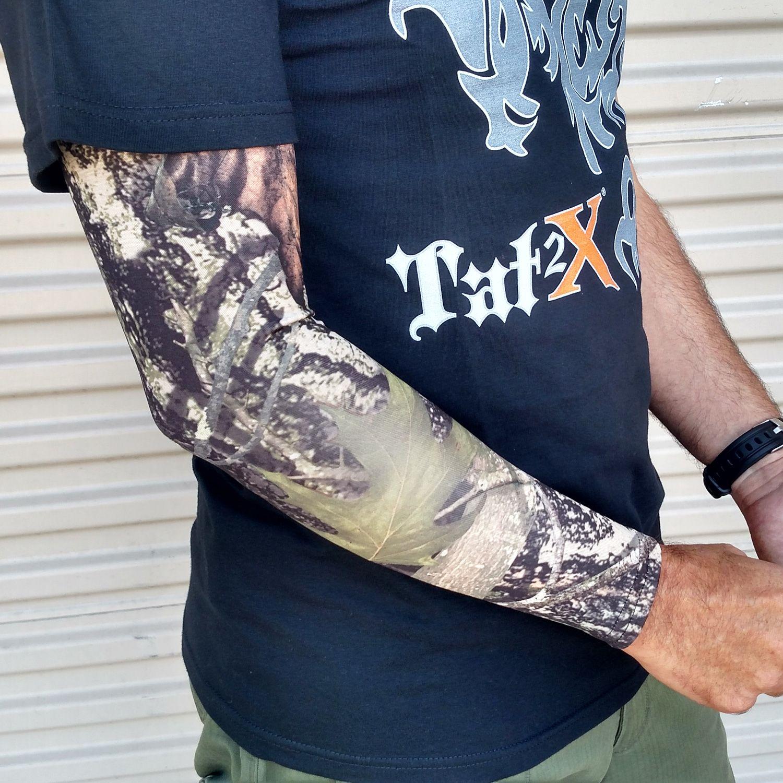 Ink armor tattoo cover up sleeve full arm sleeve true