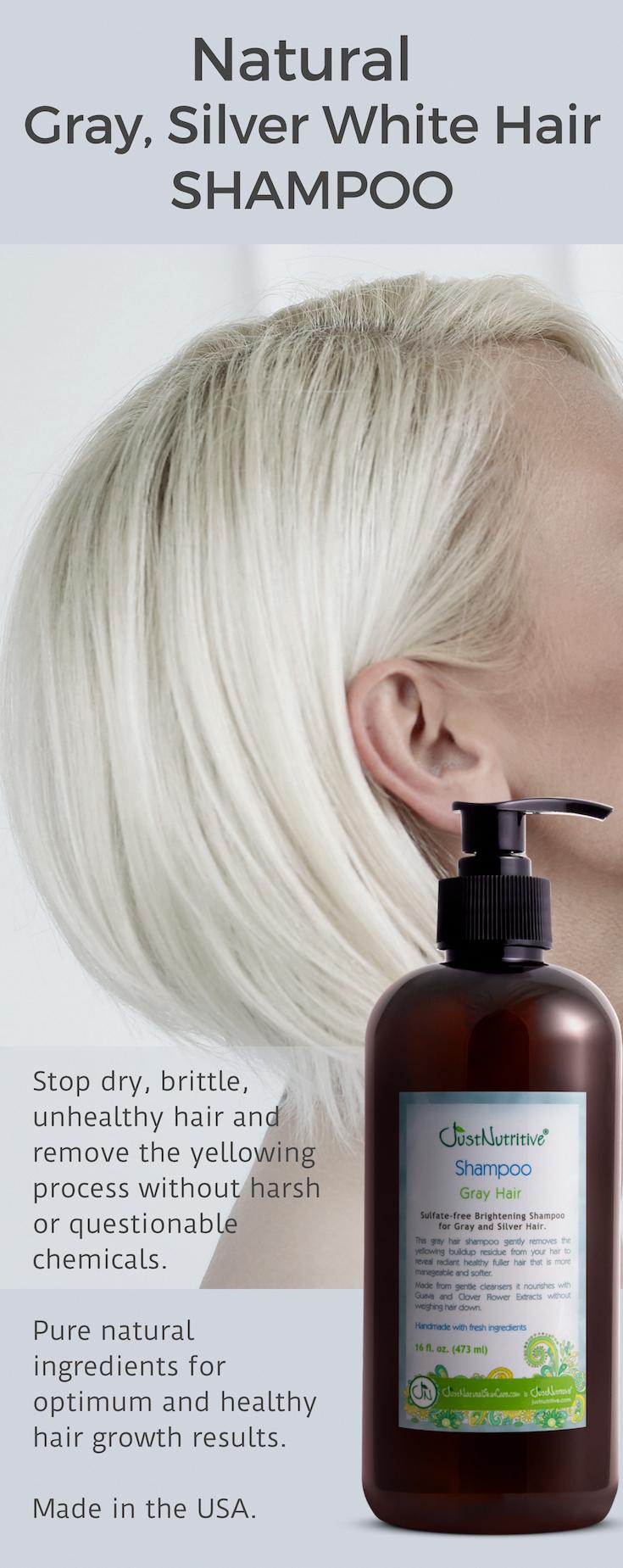 Gray Hair Shampoo At Walmart Shampoo Para Cabello Belleza Del Cabello Tintes Naturales Para Cabello