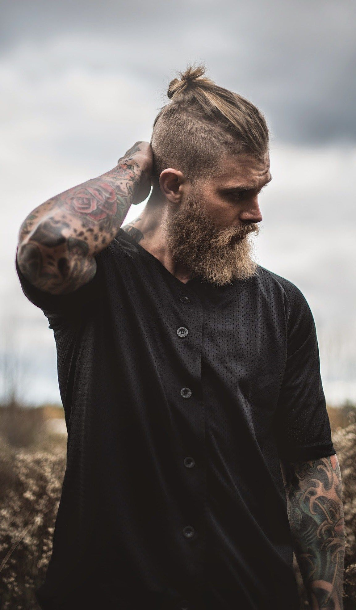 Man Bun For Short Hair? Hell Yes!
