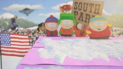 Nouveau Générique South Park 2013 en 3D - Vidéo Dailymotion