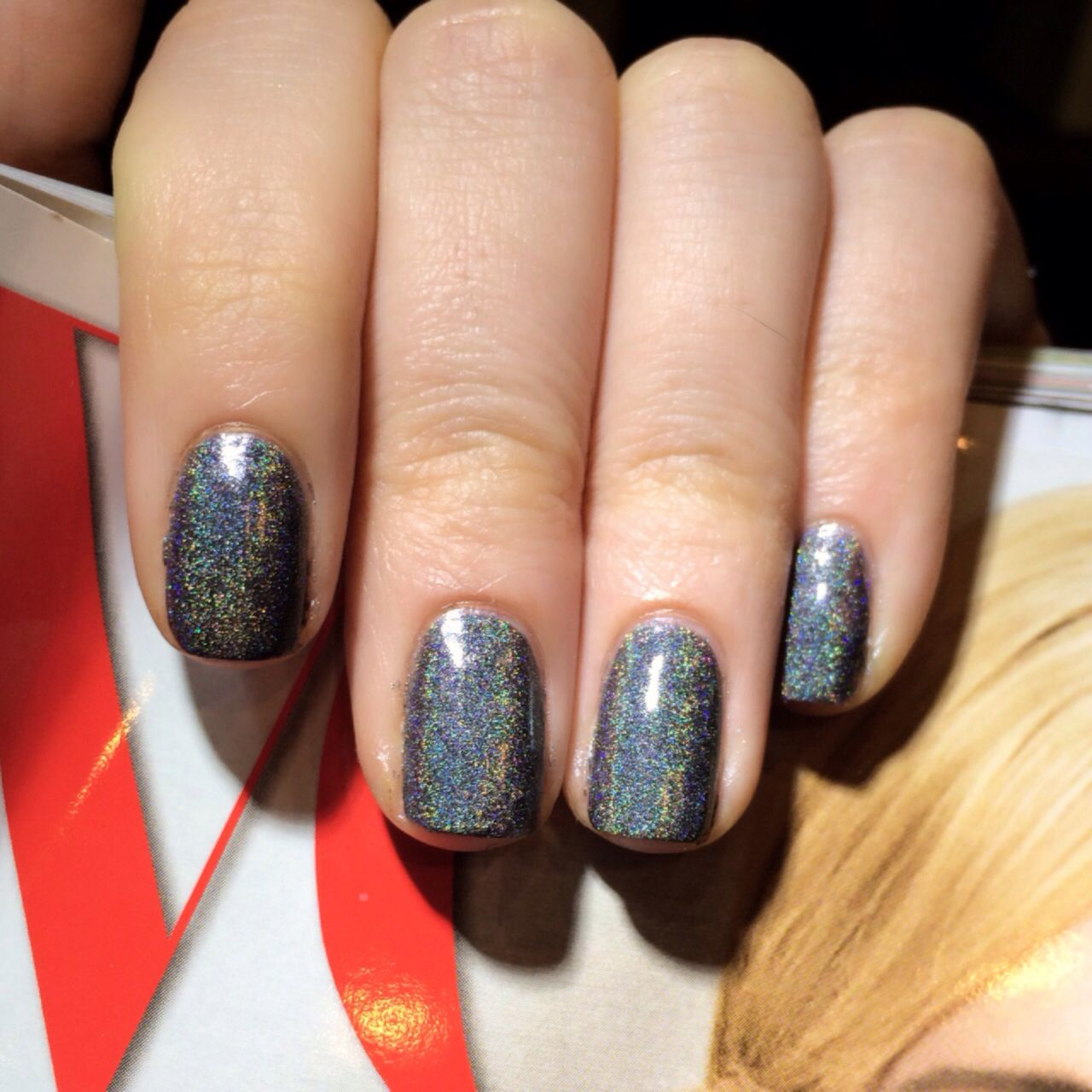 NCLA Holographic nail polish in : From LA To Anywhere www.shopncla ...