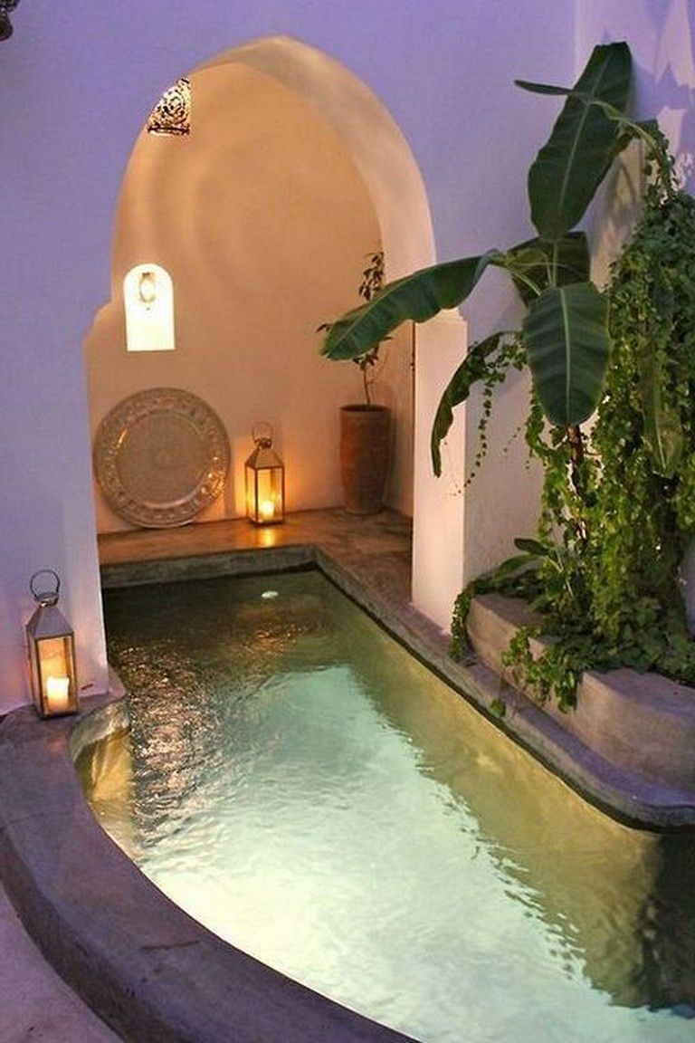 36 Beautiful Mini Pool Garden Designs For Tiny House Pool Pooldesigns Poollandscapi Swimming Pool Designs Indoor Swimming Pools Indoor Swimming Pool Design