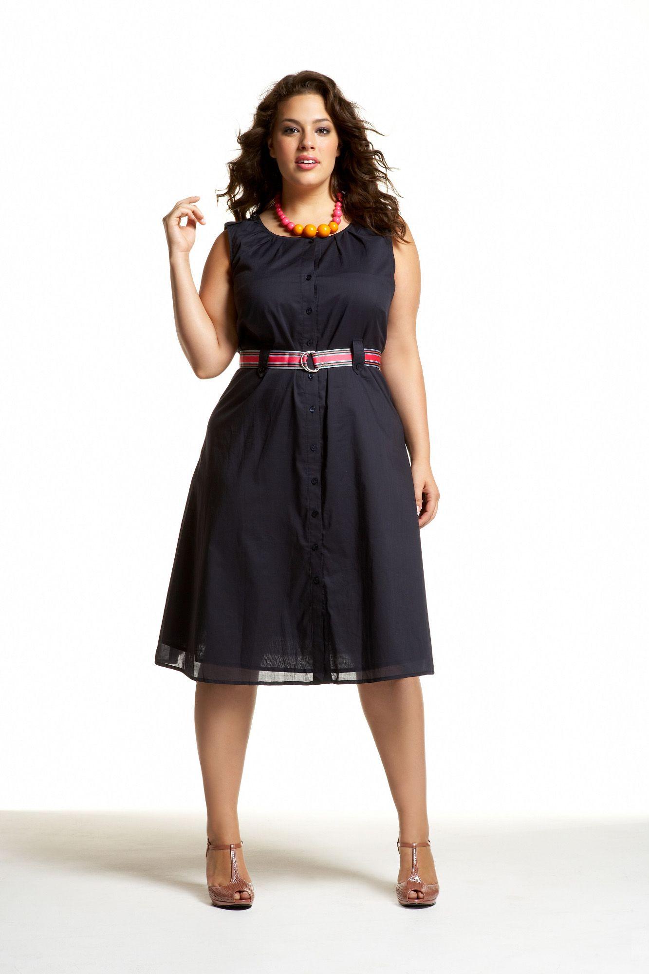 Plus trendy dress fashion