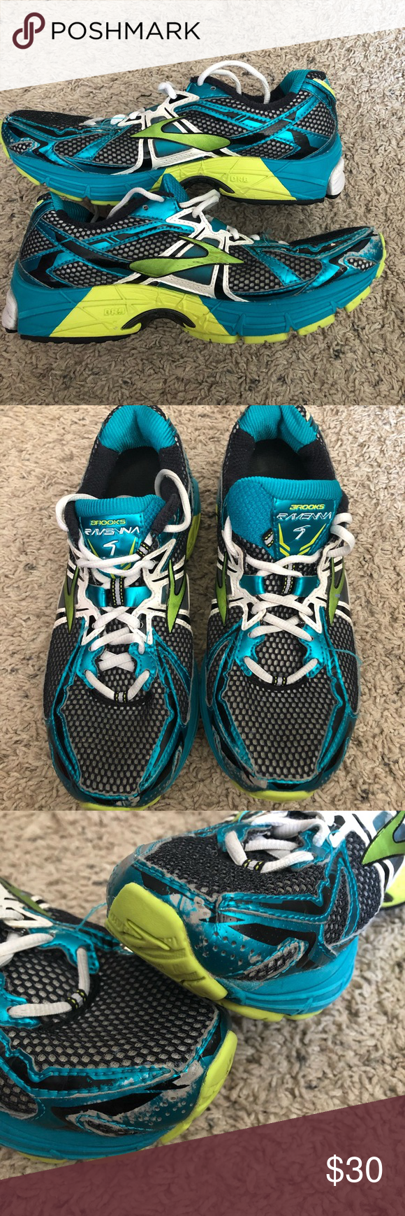 a20f821705e Womens Brooks Ravenna 4 Running Shoes 8.5 Shoes are in excellent overall  condition with plenty of