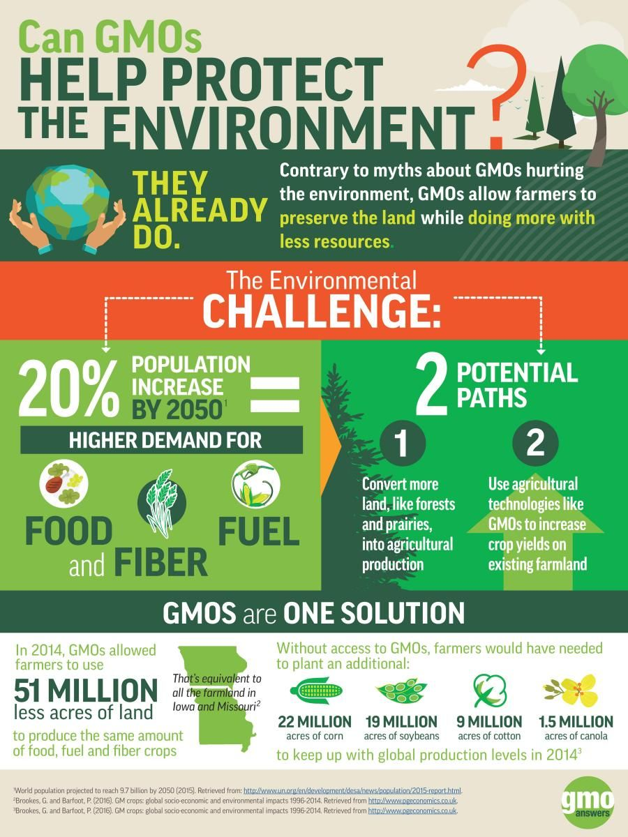 What Is The Impact Of Gmos On The Environment Gmo Answers Gmos