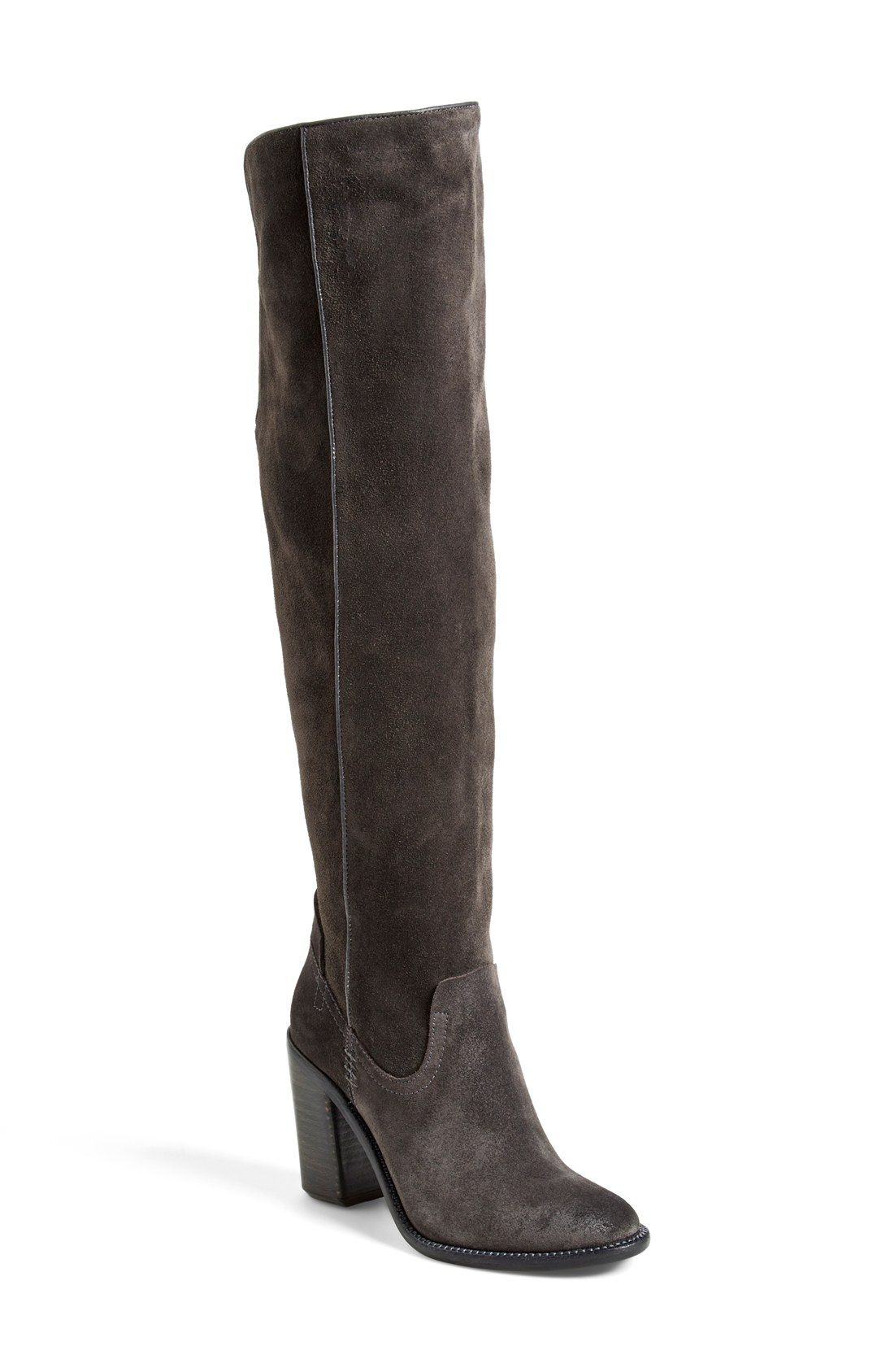10632d42a4a anthracite suede in size 7.5 gift idea - Dolce Vita  Ohanna  Over the Knee  Boot (Women) (Nordstrom Exclusive)