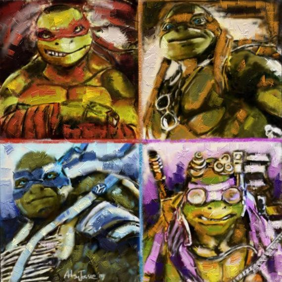 Check out this item in my Etsy shop https://www.etsy.com/listing/223363251/tmnt-2014-finest-museum-quality-giclee