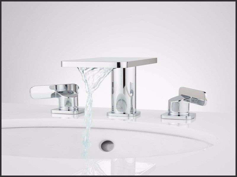 New Glacier Bay Bathroom Faucet With Led Light