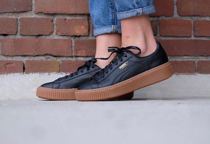 Buy Puma Basket Platform Core Women s Sneaker + Review  fc3655254