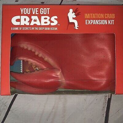 You've Got Crabs Expansion Pack Imitation Crab Kit Claw