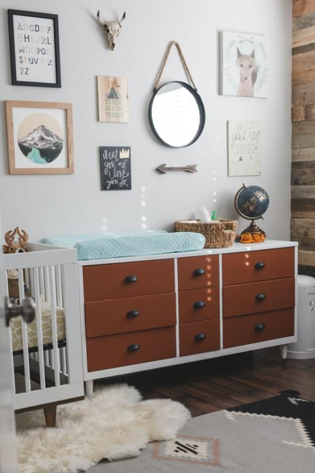 Beautiful Baby Boy Rooms: Take A Peek At These Beautiful Nurseries With A Modern