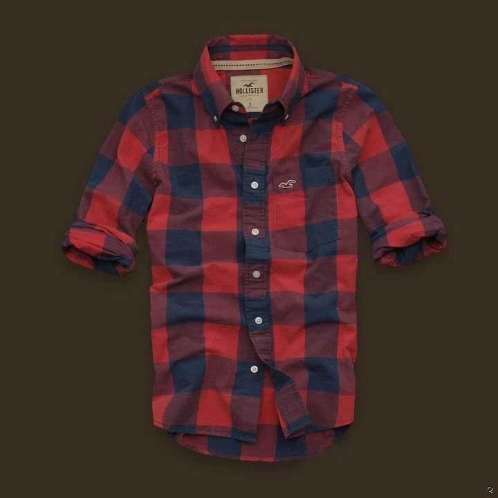 Hollister Manhattan Beach Plaid Shirts Sale in Hollister Outlet Online