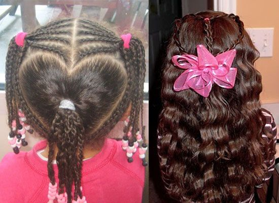 Valentines Hairstyles: Valentine's Day Hairstyles & Ideas For Girls & Kids 2013
